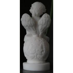Statuette Chérubin reveur ange angelot décoration taille 10cm