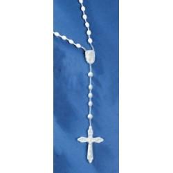 Chapelet Rosaire Blanc Bleu...