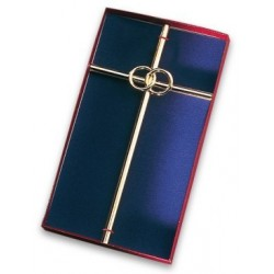Croix de mariage - 22 carats