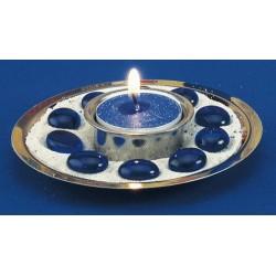 Mini lampe Bougie décoration table de Noel Sapin