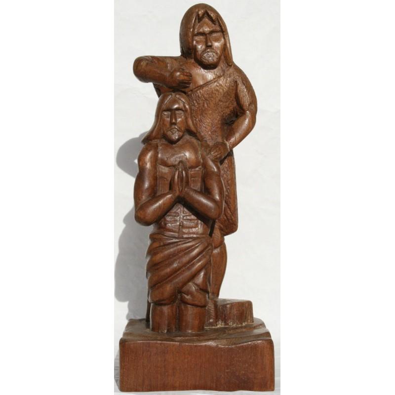 Statue Baptême Jésus Christ Jean Baptiste