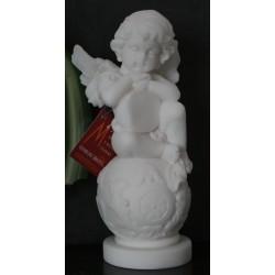 Statue Ange sur boule Hauteur 15 CM