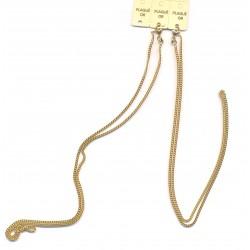 Chaine Chainette pour enfant - Plaqué OR - 50 cm