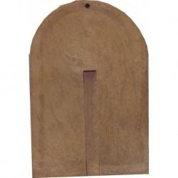 Icône courbée Notre Dame du Perpétuel Secours reproduction Taille 14x9,5cm