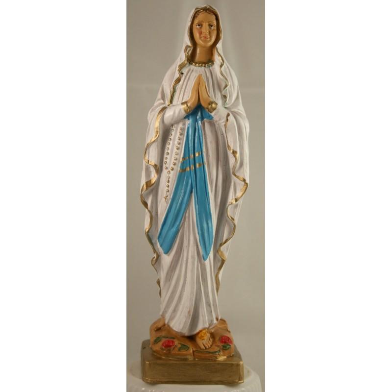 Statue Notre Dame de Lourdes en résine