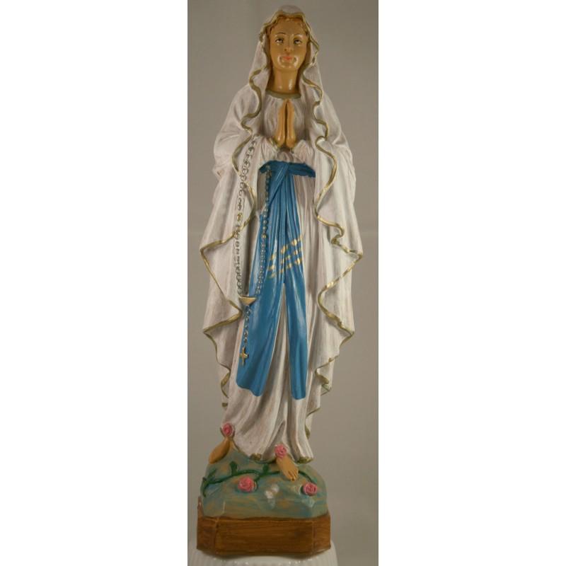Grande Statue Notre Dame de Lourdes en résine