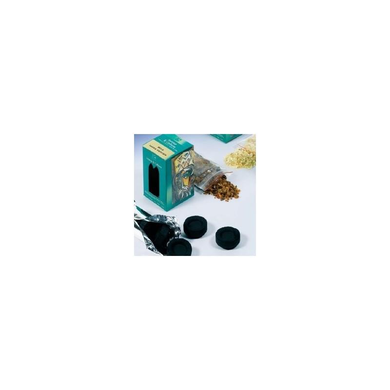 Encens Myrrhe avec charbon pour 5 services