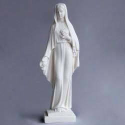 Statue de la Très Sainte Vierge Marie à la rose Rosa Mystica