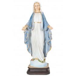 Statue de la Très Vierge Marie Médaille miraculeuse de la rue du Bac H. 20CM