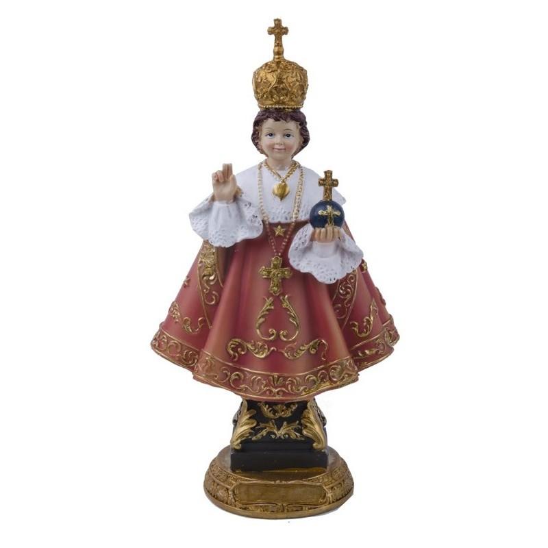 Statue du Petit Jésus de Prague H 20 CM