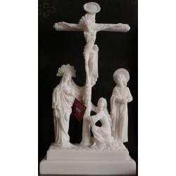 Statue Jésus Christ crucifié Calvaire Crucifix Croix